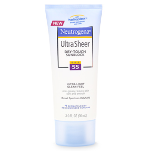 Neutrogena Ultra Sheer Dry SPF 55 Lotion 3 Oz.