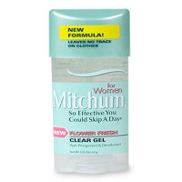 Image 0 of Mitchum Women Clear Gel Flower Fresh Deodrant 2.25 oz
