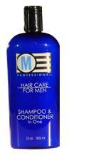 M Professional 2-In-1 Shampoo & Conditioner 12 oz