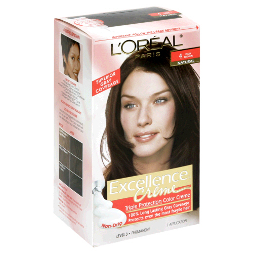 Image 0 of Loreal Hair Color Excellence 4 Dark Brown