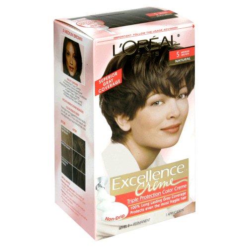 Image 0 of Loreal Excellence Permanent Hair Color 5.5 Mahogany Brown