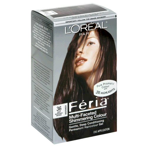 Image 0 of Loreal Feria Hair Color 36 Chocolate Cherry