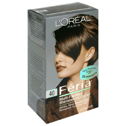 Hair Care - Loreal - Loreal Feria Permanent Hair Color 40 Espresso