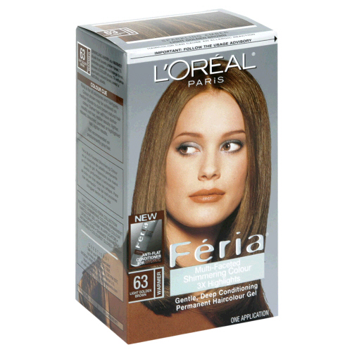 Image 0 of Loreal Feria Hair Color 63 Sparkling Amber