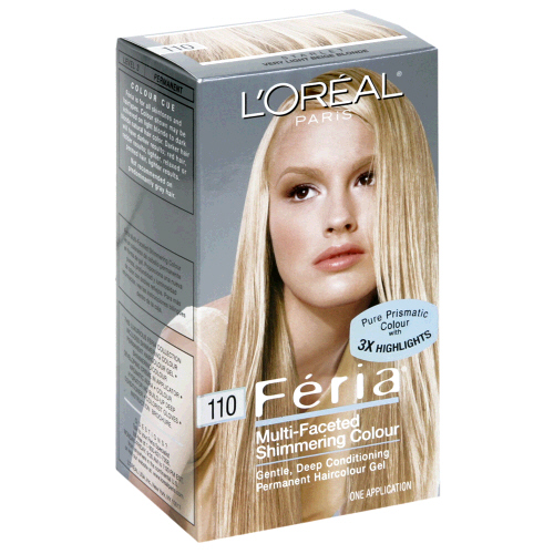 Image 0 of Loreal Feria Permanent Hair Color 110 Starlet