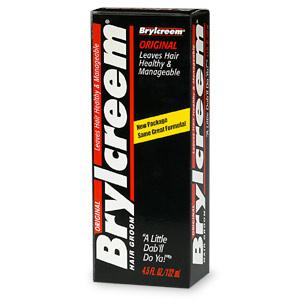 Brylcreem Original Hair Cream 4.5 Oz Tube
