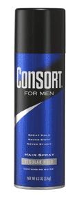 Image 0 of Consort For Men Aero Regular Hold Hair Spray 8.3 Oz