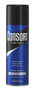 Image 0 of Consort For Men Extra Hold Unscented Hair Spray 8.3 oz