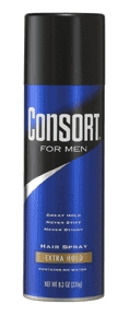 Image 0 of Consort Extra Hold For Men Hair Spray 8.3 oz