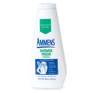 Ammens Medicated Shower Fresh Formula Powder 11 Oz