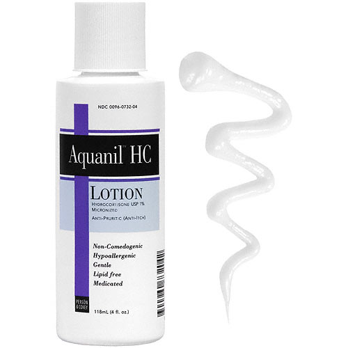 Aquanil Hc 1% Hydrocortisone Lotion 4 Oz