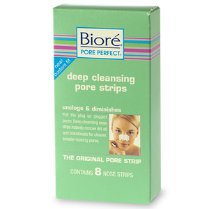 Biore Deep Cleanising Pore Strip 8 Ct