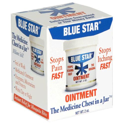 Blue Star Ointment 2 Oz