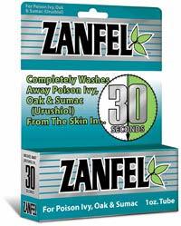 Zanfel Wash For Poison Ivy 1 Oz