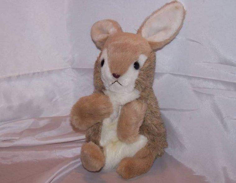 Hand Puppet, Bunny Rabbit, Stuffed Plush