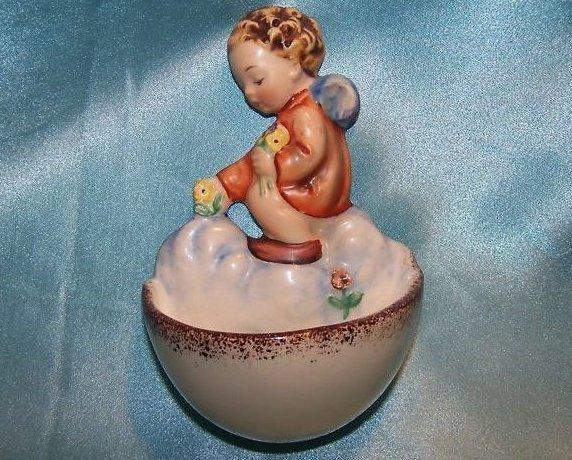Hummel Goebel Angel Holy Water Wall Pocket
