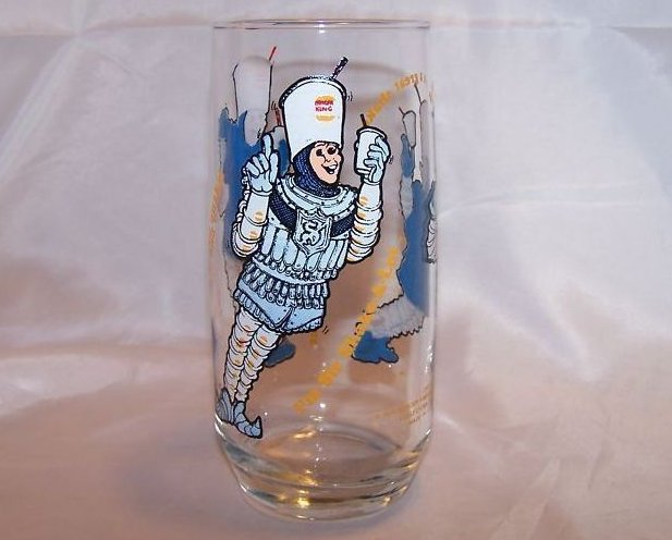 Burger King Sir Shake-A-Lot Glass