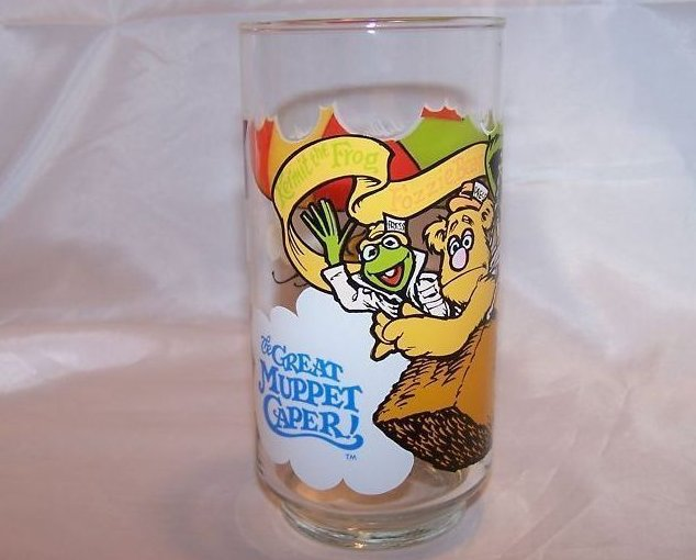 McDonald's Great Muppet Caper Drinking Glass