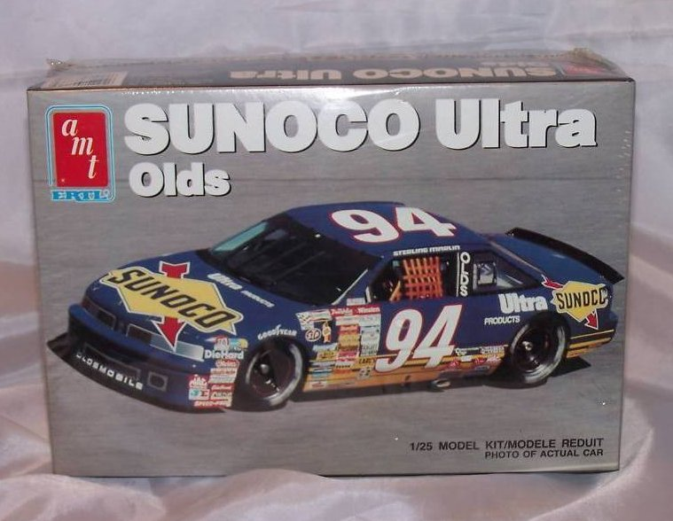 Sterling Marlin Sunoco Ultra Oldsmobile Car Model, New in Box