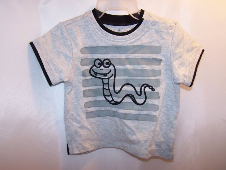 Image 1 of New Sz 3-6 MO Boys Shorts and Snake T Shirt Outfit