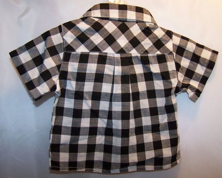Image 4 of New Sz 0-3 Months Boys 1 pr Pants, 2 Button Shirts