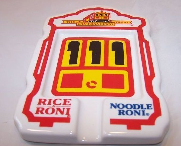 Rice a Roni, Noodle Roni Streetcar Cable Car Spoon Rest