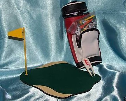 Image 0 of Golf Green Mousepad Mouse Pad, Drink Carrier, More