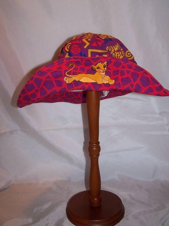 Hat Lion King Simba, Jungle Hat Ages 2 to 4 Girls