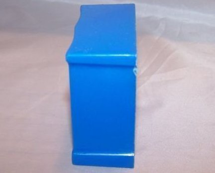 Image 1 of Dollhouse Dresser, Plastic, Superior, Vintage