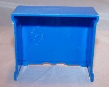 Image 2 of Dollhouse Dresser, Plastic, Superior, Vintage