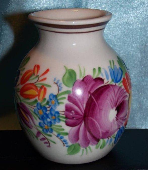 Image 2 of Chodovia Czech Art Pottery Vase, Original, Mint
