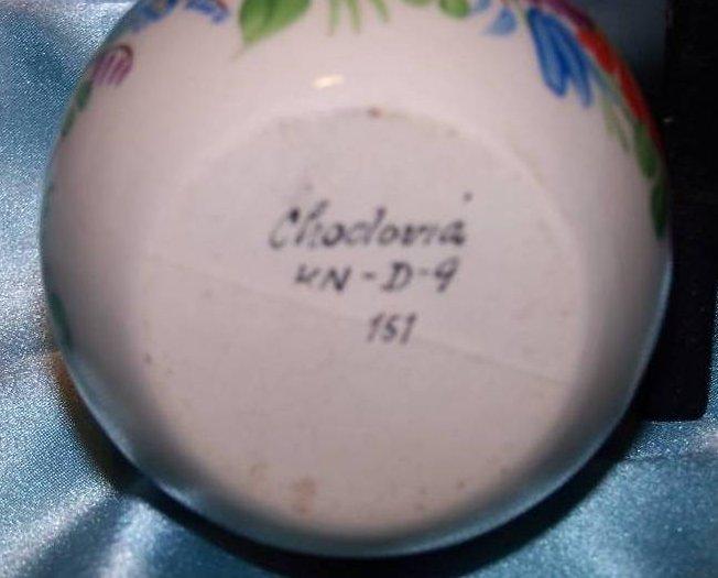 Image 5 of Chodovia Czech Art Pottery Vase, Original, Mint