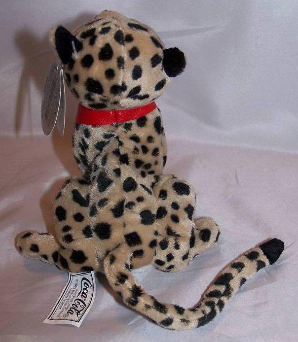 Image 1 of Coca-Cola Coke Cheetah, Africa, Stuffed Plush Promo