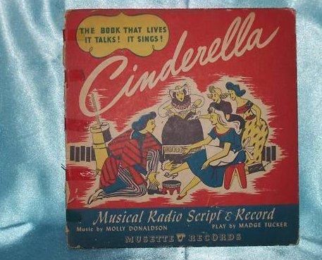 1940 Cinderella Musical Radio Script, Scores