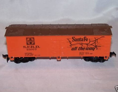 Santa Fe S.F.R.D. 25077 The Grand Canyon Line Train Car