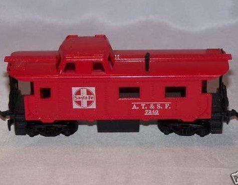 Santa Fe Red Caboose A.T. & S. F. 7240