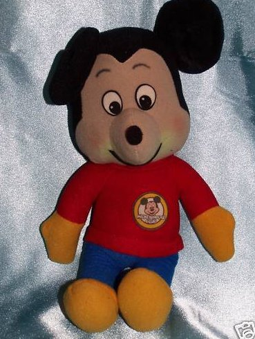 Knickerbocker Mickey Mouse Club Plush, Vintage