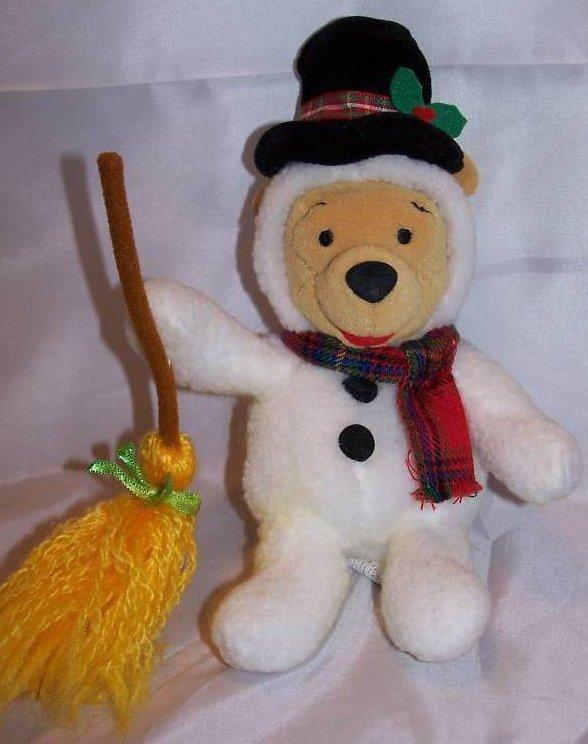 Winnie The Pooh Snowman Pooh Stuffed Plush Disney