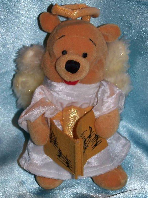 Winnie The Pooh Angel Pooh Stuffed Plush Disney