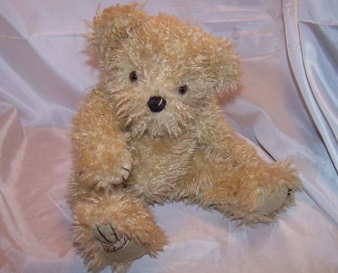 Barbara Bukowski Design Jointed Bear Stuffed Plush
