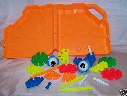 Image 1 of Kid K'nex Book Building Set and Building Set with Case