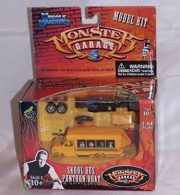 Monster Garage, Monster Machines Skool Bus Pontoon Boat