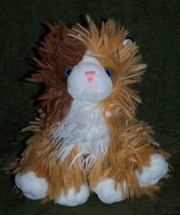 Cuddle Factory Long Haired Cat Plush, Stuffed Animal
