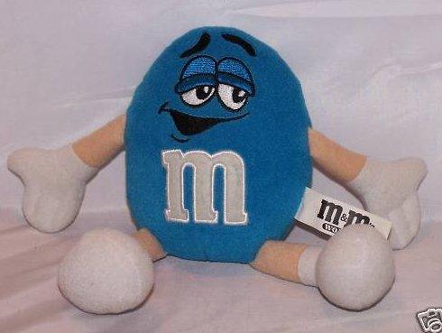 Blue M&Ms Guy Stuffed Plush Candy