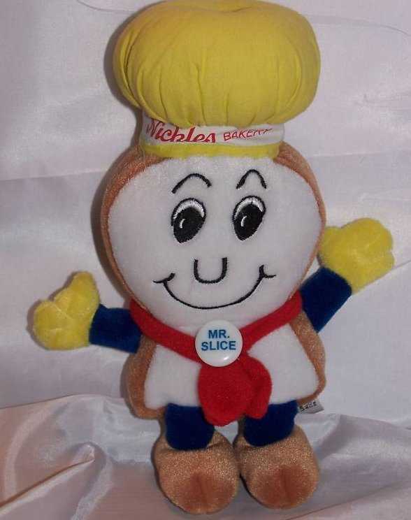 Nickles Bakery Mr. Slice Stuffed Plush, Limited Edition