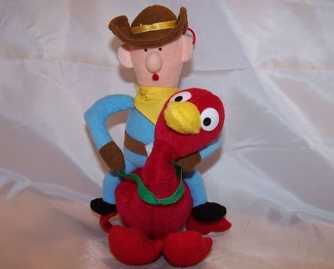 Island Of Misfit Toys Cowboy And Ostrich Stuffed Animal