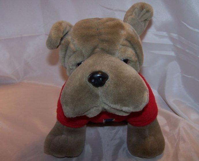 Dorm Pet Bulldog Soft Plush Stuffed Animal, Aeropostale