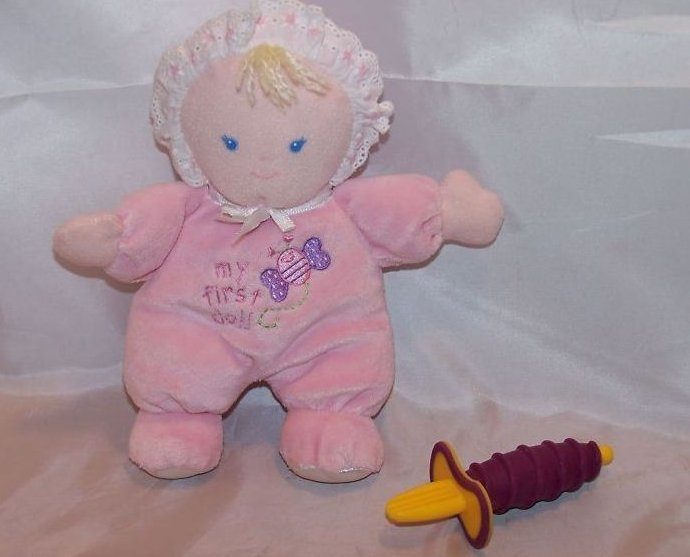 Small Wonders Plush Stuffed Doll, First Self-Feeding Spoon