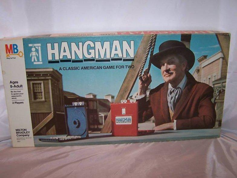 Hangman w Vincent Price, Milton Bradley, 1976, Complete
