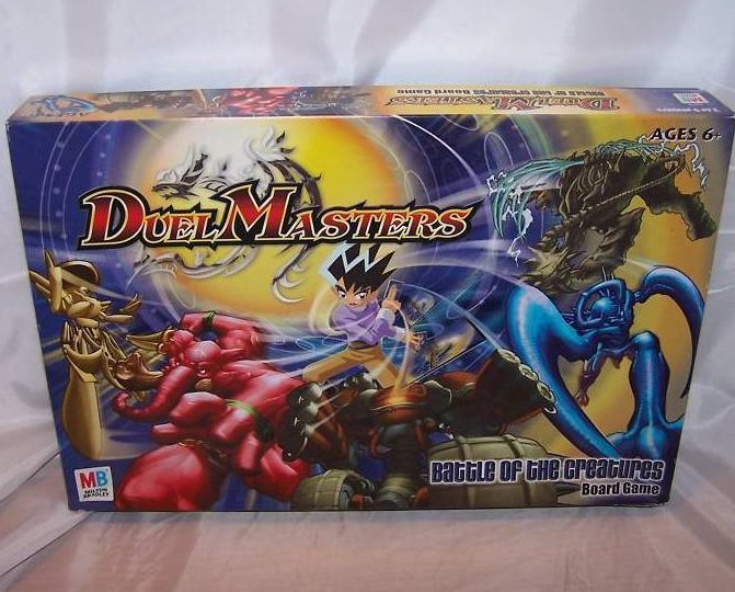 Image 0 of Duel Masters Board Game, Milton Bradley